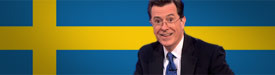Stephen Colbert Swedish Twitter