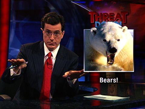 Colber Report Bears