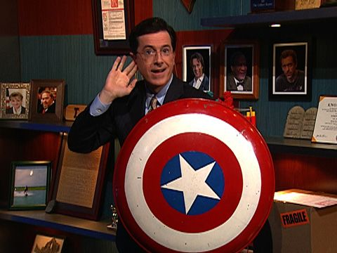 Stephen Colbert - the true Captain America
