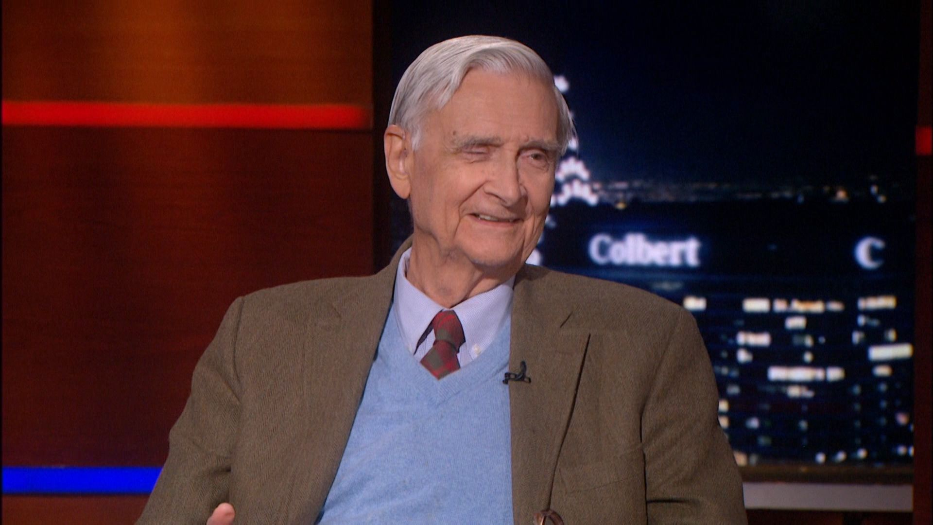 E.O. Wilson on Colbert Report