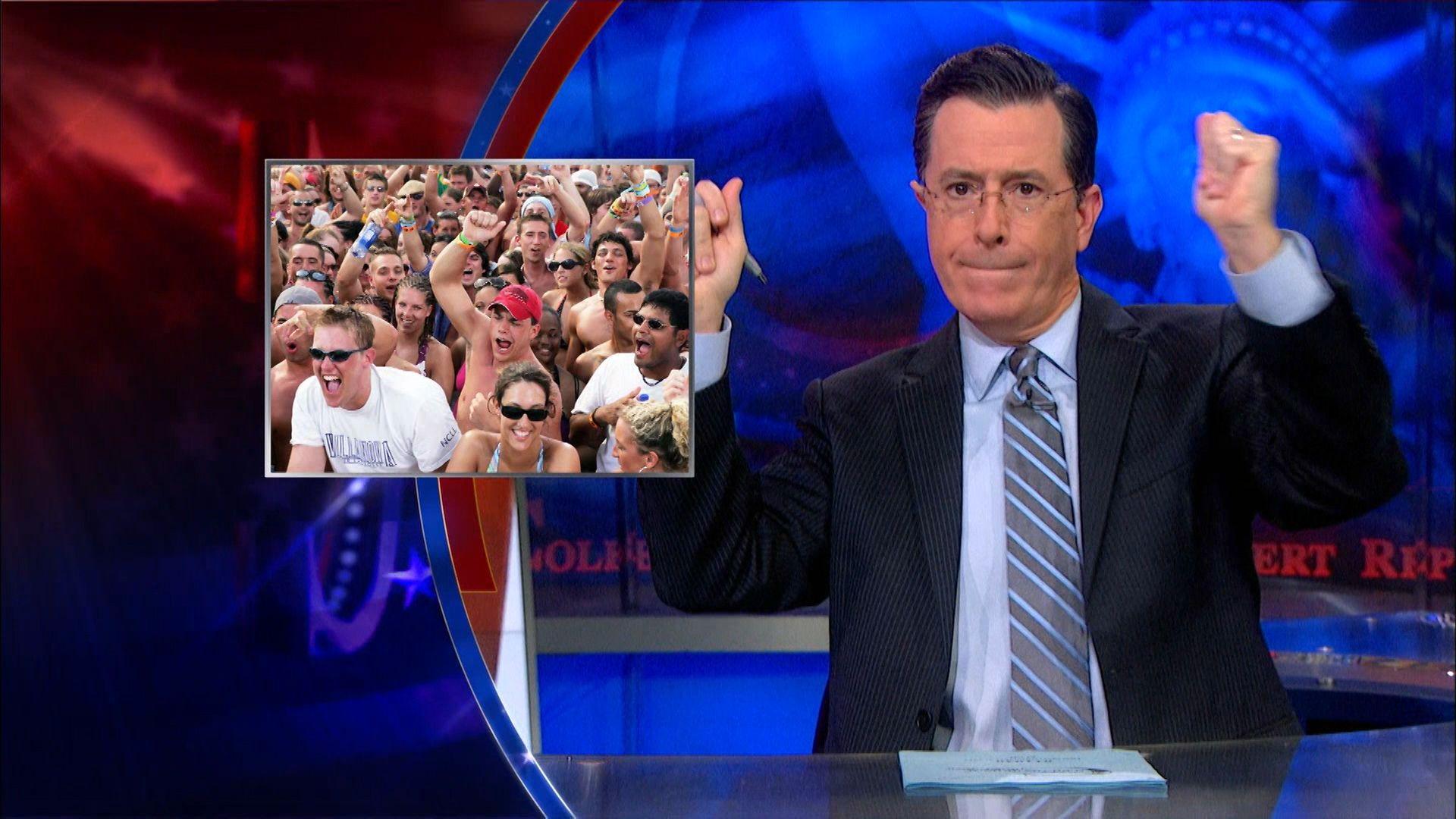 Colbert report april 2019