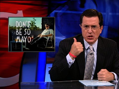Stephen Colbert on TV