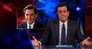 Colbert Report: Mitt Romney's & Rick Santorum's Michigan Campaigns