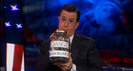 Colbert Report: Mitt Romney's Victory Retreat & Democrats' Convention Deficit